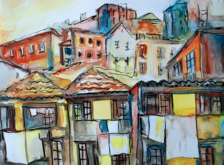 Old Lisbon View, 2014