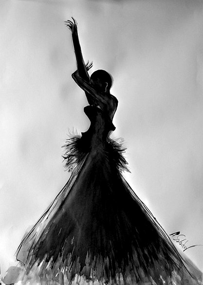 Black Dancer Silhouette, 2013