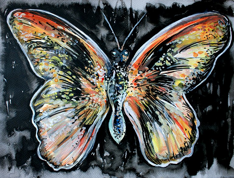 Butterfly at Night, 2014