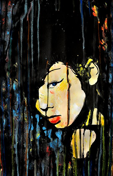 Geisha in the Rain, 2015