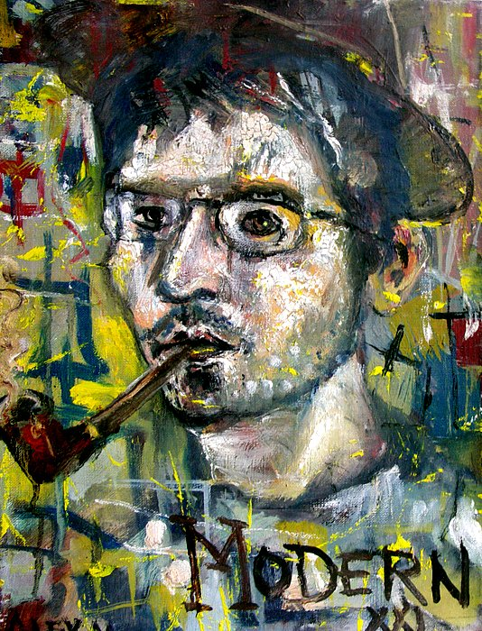 Self portrait, 2000