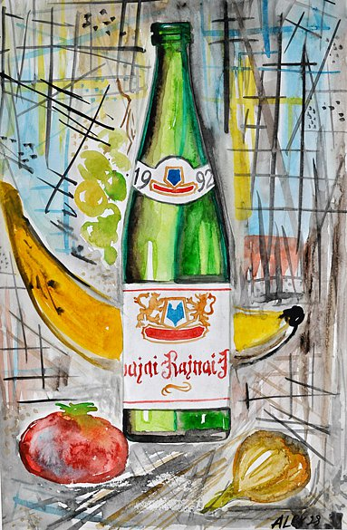 Bottle of Riesling, 1998