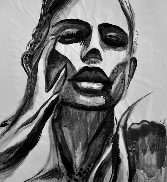Face and nails, 2016
